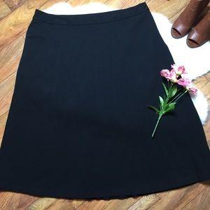 Charter Club black skirt